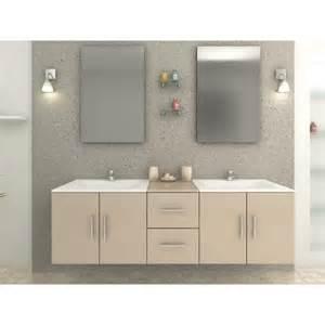 salle de bain laqu 233 e beige vasque