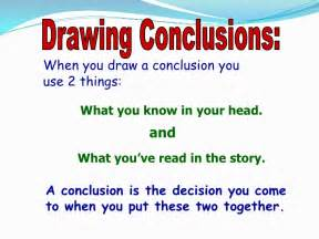 O Drawing Conclusions by Analyzing Text