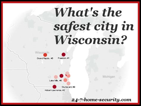 10 safest cities in wisconsin 24 7 home security