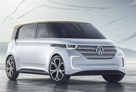 volkswagen electric concept volkswagen budd e concept 373 mile all electric van