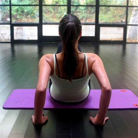 triceps workout without weights popsugar fitness