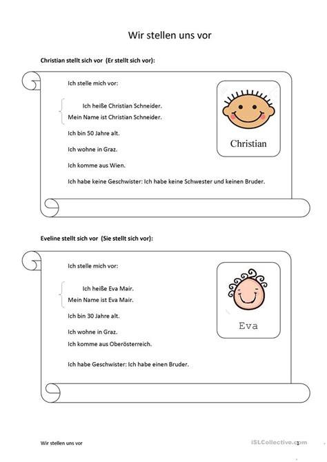 Muster Mahnung In Französisch Sich Und Andere Vorstellen Steckbriefe Arbeitsblatt Kostenlose Daf Arbeitsbl 228 Tter