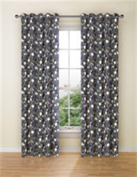 marks and spencer blackout curtains navy eyelet curtains shopstyle uk