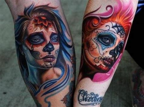 day of the dead tattoos meaning 90 best day of the dead tattoos designs meanings 2019