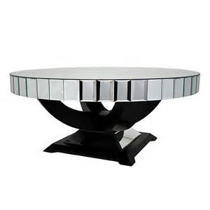 Coffee Table Tray Ideas infinity oval mirrored coffee table with wooden base