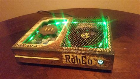 modded xbox one console fallout 4 custom modded xbox one looks stellar