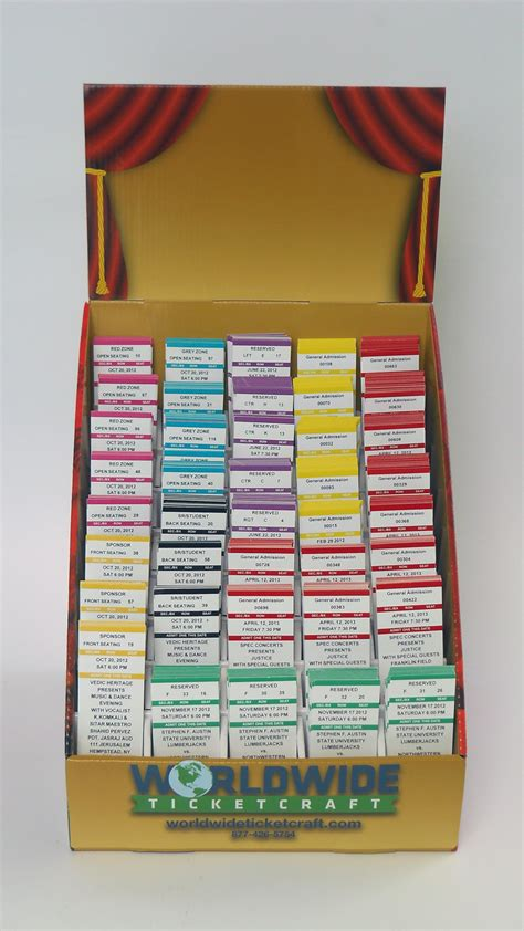 Ticket Rack by Ticketracks For Your Diy Tickets And Computiks