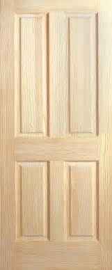 Ebay Interior Doors 4 Panel Raised Panels Clear Pine Stain Grade Solid Interior Wood Doors 6 8 Quot Ebay