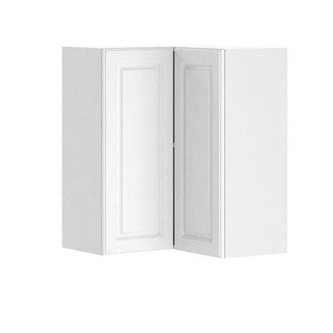 White Melamine Cabinet Doors Fabritec Ready To Assemble 24x30x24 In Birmingham Corner Wall Cabinet In White Melamine And