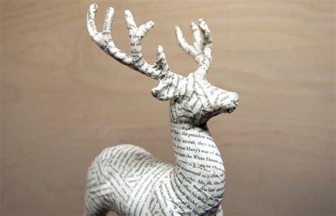 How To Make A Paper Mache Stag - 676 mejores im 225 genes sobre reindeer en silueta