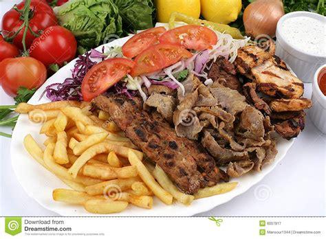 Ottoman Kebab by Turkish Mix Kebab Stock Image Image Of Tomato Skewer