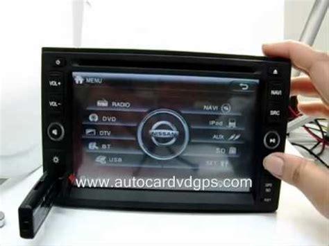 nissan dvd player format nissan car gps dvd player tv navara pathfinder x trail www