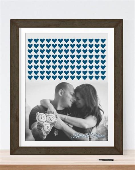 Wedding Photo Guest Book Alternative With Your Photo
