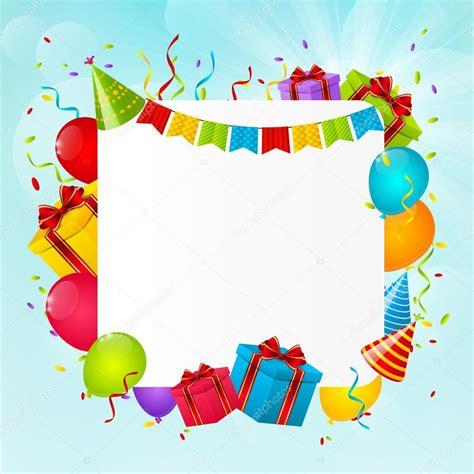 imagenes de cumpleaños juveniles fondo de cumplea 241 os para su dise 241 o 7 vector de stock