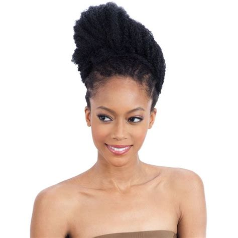 Jamaican Ponytail Hairstyle   freetress equal synthetic ponytail jamaican twist girl