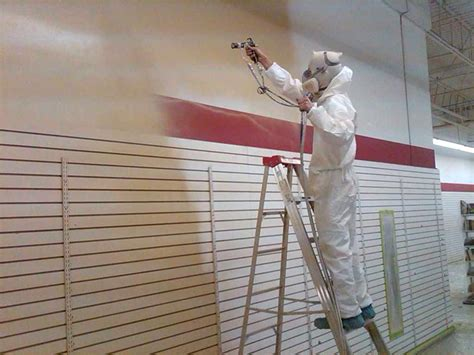 spray painter trades services commercial painting excel pro painters greater portland