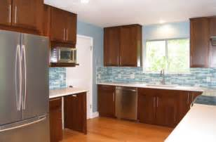 Modern Cherry Kitchen Cabinets modern cherry cabinets contemporary kitchen austin by ub