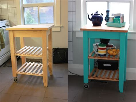 Bekvam Kitchen Cart by The Butcher Block Goes Glam The Science Of Married