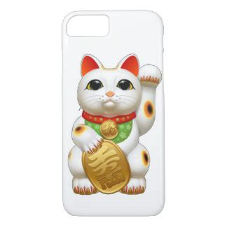 Maneki Neko 0008 Casing For Iphone 7 Plus Hardcase 2d maneki neko gifts t shirts posters other gift ideas zazzle