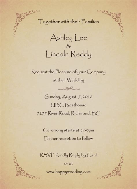 my wedding invitation website wedding how do i write my invi and invite friends for wedding view larger invitations h