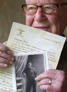 world of the written word hitler biography triggers a war the delightful irony of a jewish soldier s wwii letter