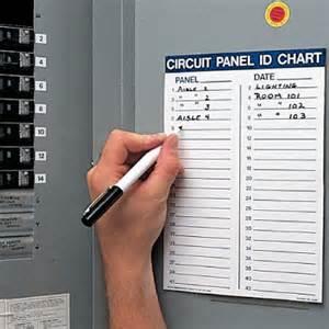 circuit breaker panel labels template circuit panel id chart kit circuit breaker seton