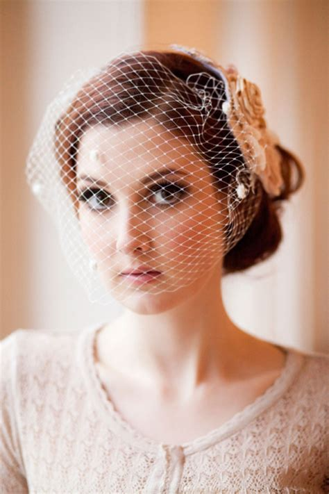 Vintage Hairstyle Wedding Hair Hairstylegalleries by Vintage Wedding Hair Birdcage Veil Hairstylegalleries