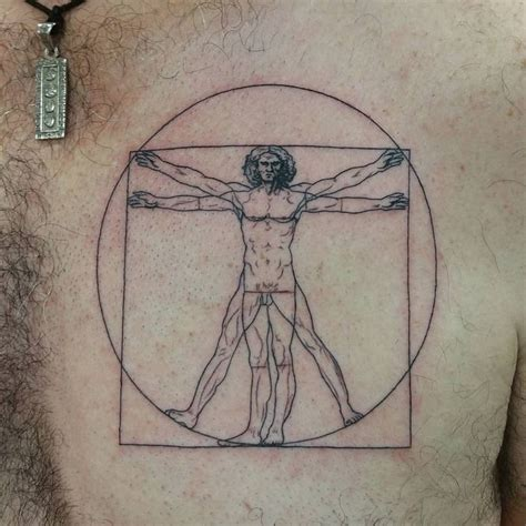 da vinci tattoo 25 best ideas about vitruvian on