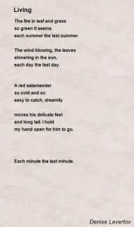 Green Light Lyrics Living Poem By Denise Levertov Poem Hunter