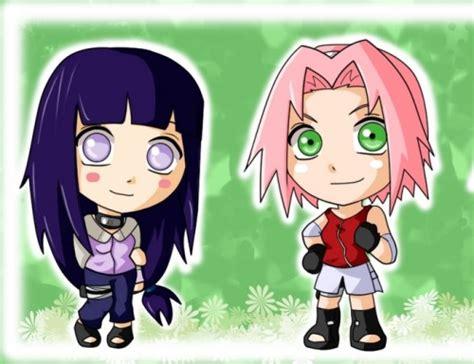 hinata kawaii anime photo 33995613 fanpop sakura and hinata chibi kunoichi island photo 27727057