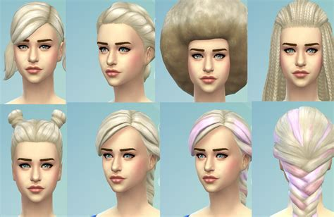 sims 4 hairstyles mods mod the sims targaryen blonde new non default colour