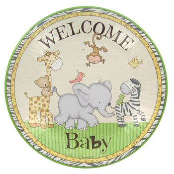 Safari Baby Shower Plates safari baby shower plates large hobby lobby 907709
