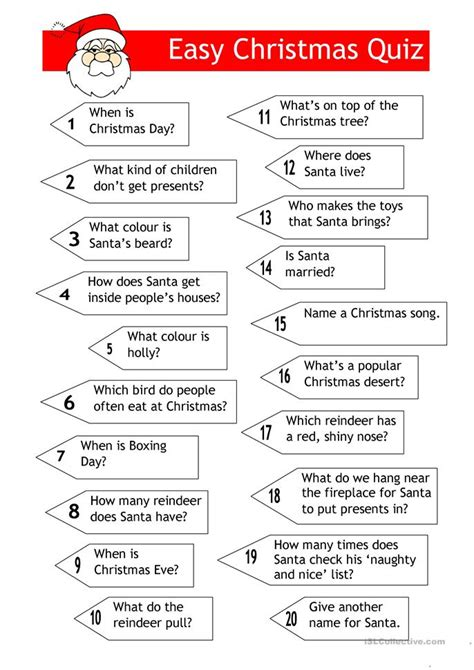 film quiz questions and answers easy letter to father christmas or the magic kings worksheet