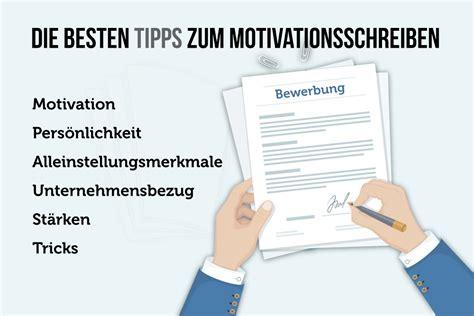 Unterschied Zwischen Bewerbungsschreiben Und Motivationsschreiben motivationsschreiben verfassen anleitung muster