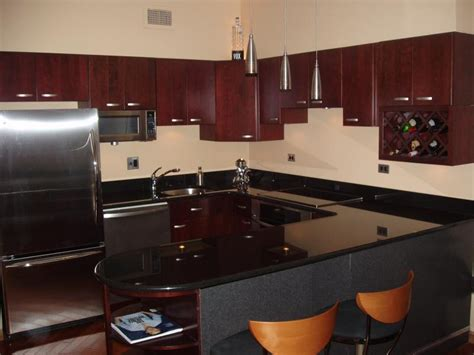 Cherry Wood Kitchen Cabinets With Black Granite Carmellalvpr Randomness Page 2