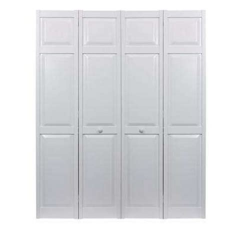 42 Bi Fold Closet Door 60 X 80 Bi Fold Doors Interior Closet Doors The Home Depot