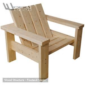 fauteuil sapin fauteuil design wood structure