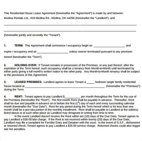 home lease agreement sle home lease agreement 12 free documents in pdf word