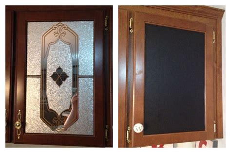 Mobile Home Cabinet Doors Mobile Home Mirrored Cabinet Doors Transformed With Vinyl Chalkboard Contact Paper And New
