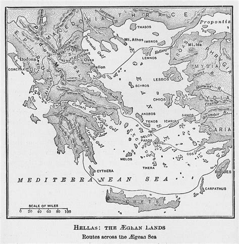Historical Outline Map 7 Ancient Greece Answers by Maps Jason And The Argonauts