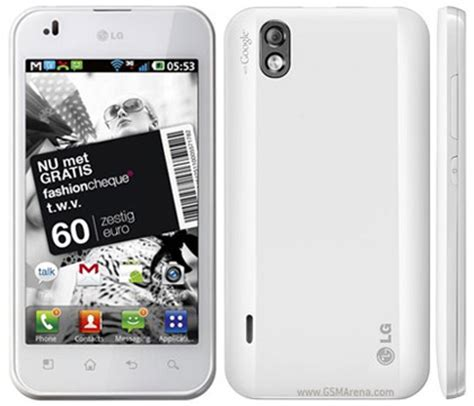 Hp Lg P970 Optimus White Lg Optimus Black White Version Pictures Official Photos