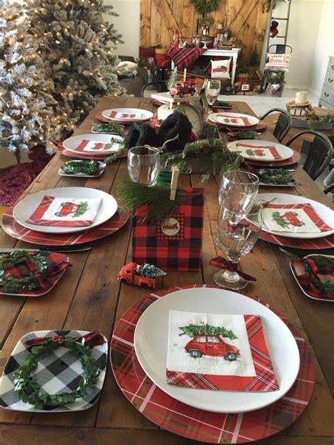 christmas party 2016 ideas kara s ideas vintage rustic plaid kara s ideas