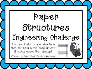 paper structure challenge paper structures engineering challenge project great