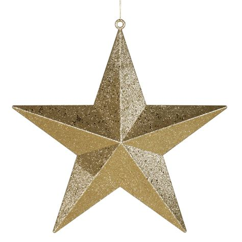 Vickerman Glitter Star Christmas Ornament   Wayfair