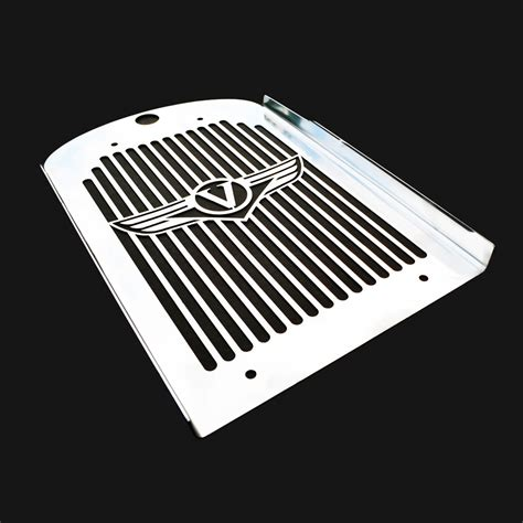 kawasaki vn1600 classic nomad new stainless steel radiator cover guard grill ebay