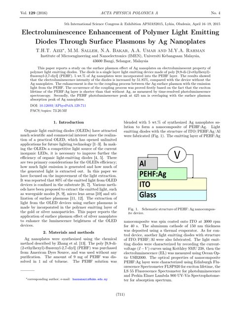 plasmon coupled organic light emitting diode plasmon coupled organic light emitting diode 28 images simulation paves the way for more