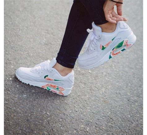 Nike Airmax 90 Flower shoes nike x b floral air max 90 nike running shoes