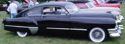 49 Cadillac Coupe 1949 Cadillac Club Coupe Fastback Black