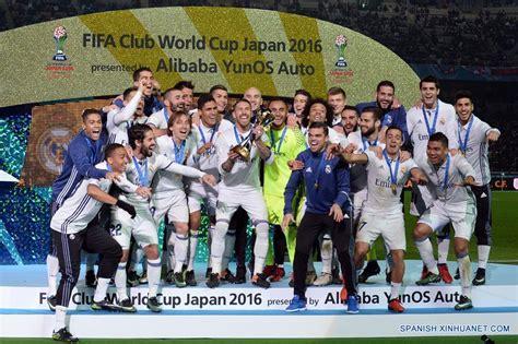 imagenes real madrid ceon mundial de clubes f 250 tbol real madrid gana copa mundial de clubes jap 243 n 2016
