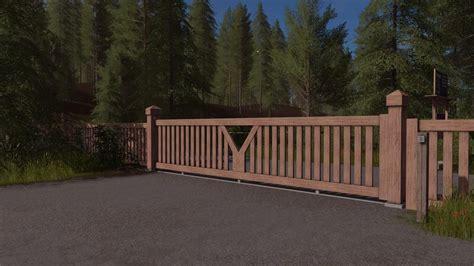 Wooden Ls by Wooden Gate Prefab V1 0 For Ls 17 Farming Simulator